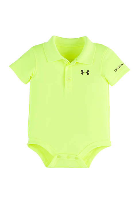 Under Armour® Baby Boys Polo Bodysuit