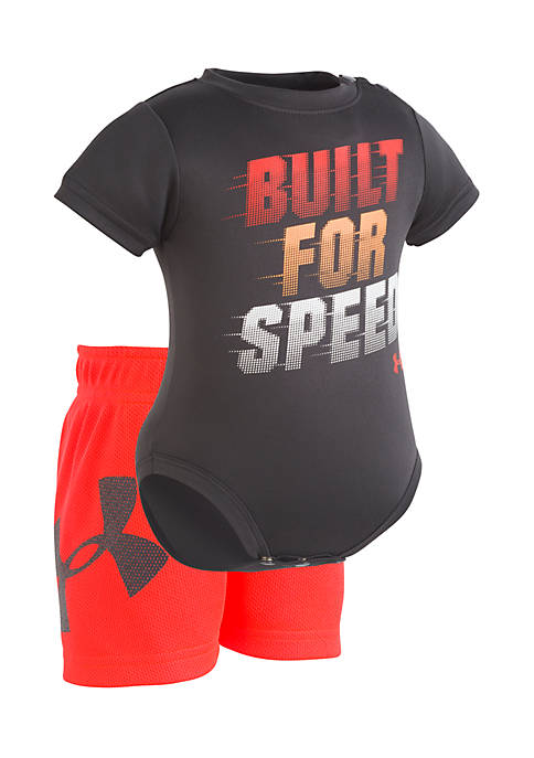 Under Armour® Boys Newborn Built For Speed Set