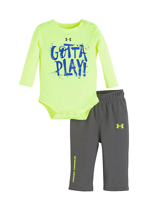 Under Armour® Infant Boys Gotta Play 2-Piece Set
