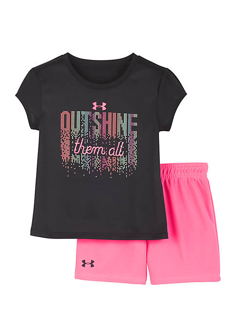 Under Armour® Baby Girls Outshine Them All Set