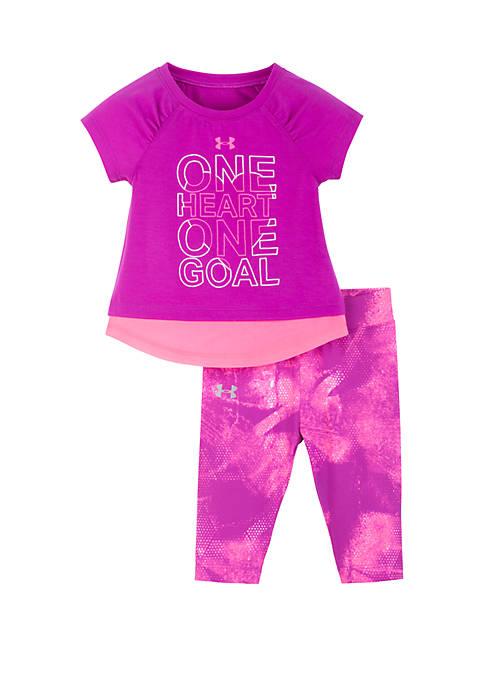 Under Armour® Baby Girls Fierce Heart Set