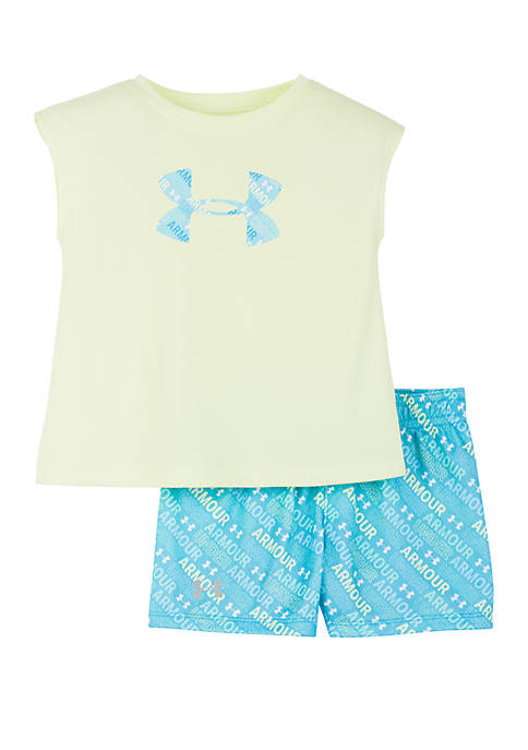 Under Armour® Baby Girls Jagger Multi Big Logo