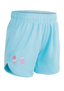 Under Armour® Toddler Girls Imprint Shorts