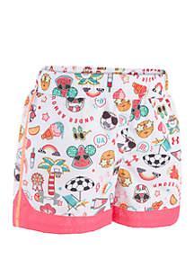 Under Armour® Toddler Girls Summer Life Sprint Shorts