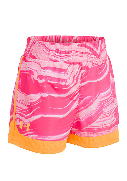 Under Armour® Toddler Girls Agate Swirl Sprint Shorts