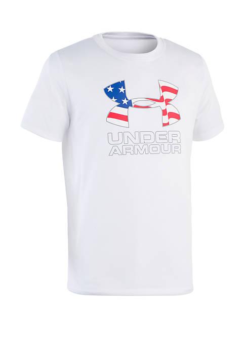 Toddler Boys Americana Surf Shirt