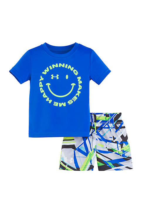 Under Armour® Baby Boys Geo Storm Winning Set