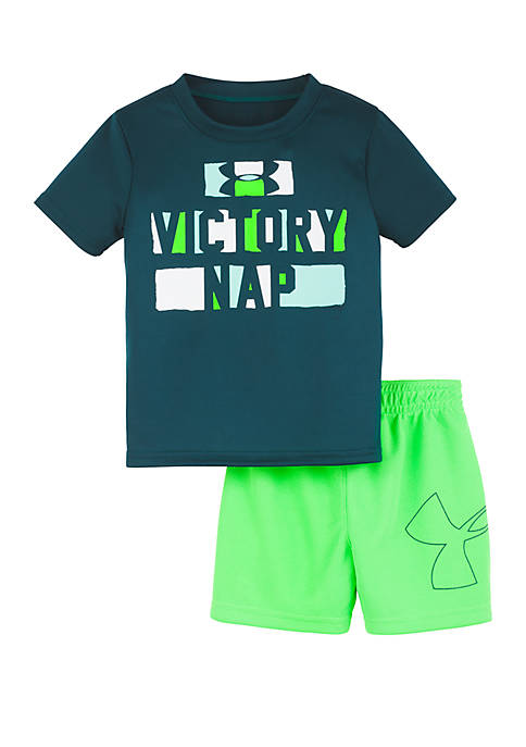 Under Armour® Baby Boys Victory Nap Shorts and