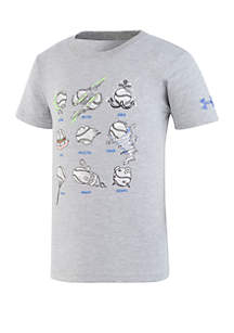 Under Armour® Baby Boys Baseball Pitches Tee