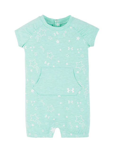 Under Armour® Baby Girls Stars Space Coverall