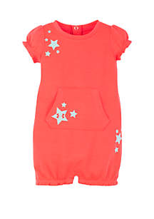 Under Armour® Baby Girls Stars Coveralls