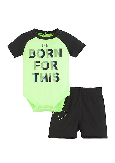 Under Armour® Baby Boys Born For This Set