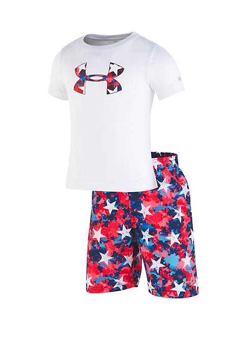 Under Armour® Baby Boys Americana Volley Set