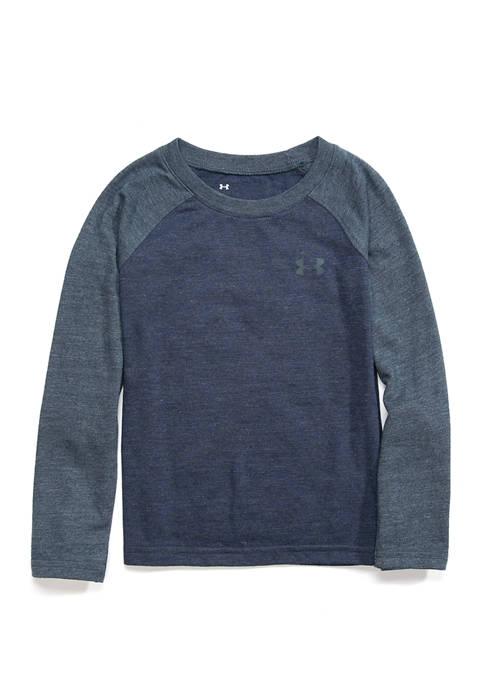 Toddler Boys Tri Blend Long Sleeve Raglan T-Shirt