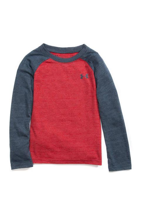Toddler Boys Tri Blend Long Raglan Sleeve T-Shirt