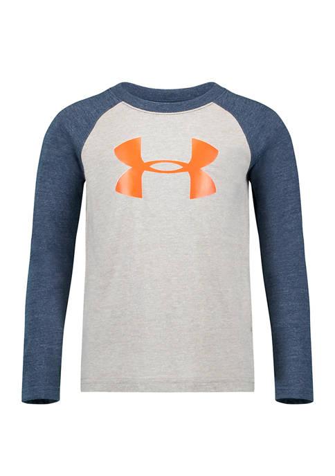 Toddler Boys Triblend Long Raglan Sleeve T-Shirt