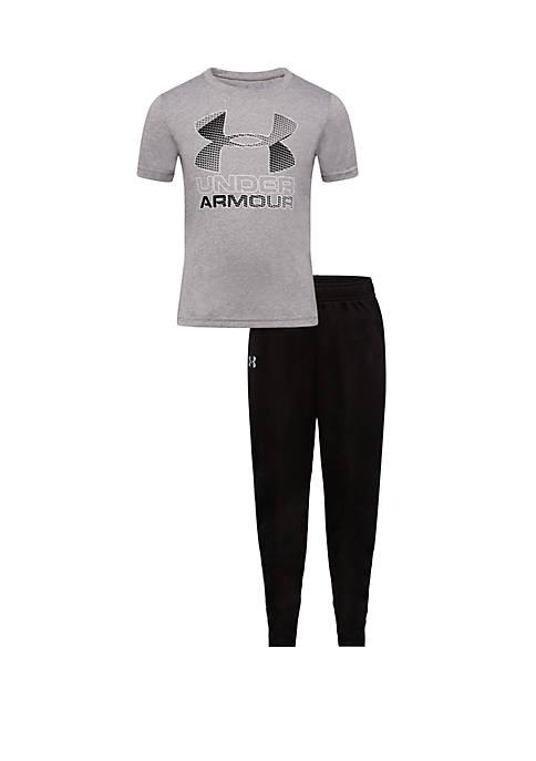 Under Armour® Baby Boys Big Logo Short Sleeve