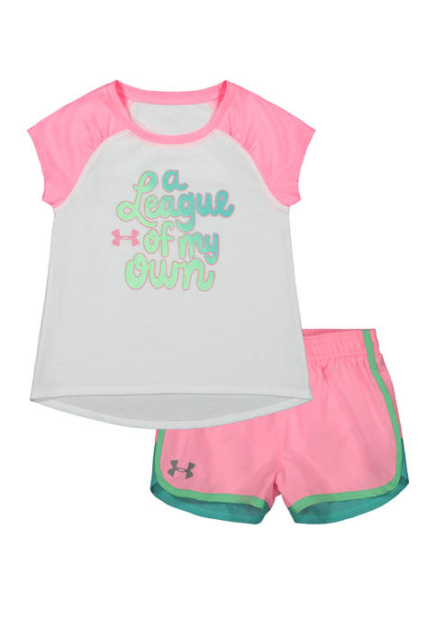 Under Armour® Toddler Girls A League of My