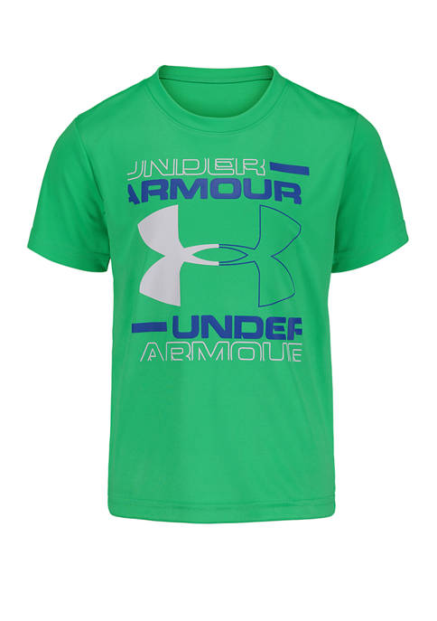 Under Armour® Toddler Boys Boxed Logo Short Sleeve