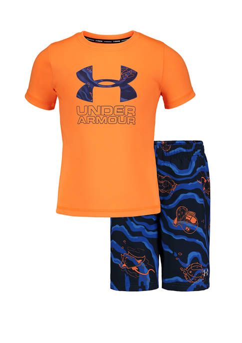 Under Armour® Toddler Boys 2 Piece Sport Fish
