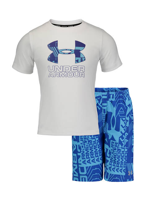 Under Armour® Toddler Boys Delayed Volley Swim Set