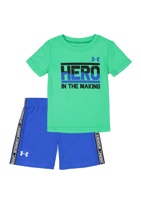 Under Armour® Baby Boys 2 Piece Shorts Set