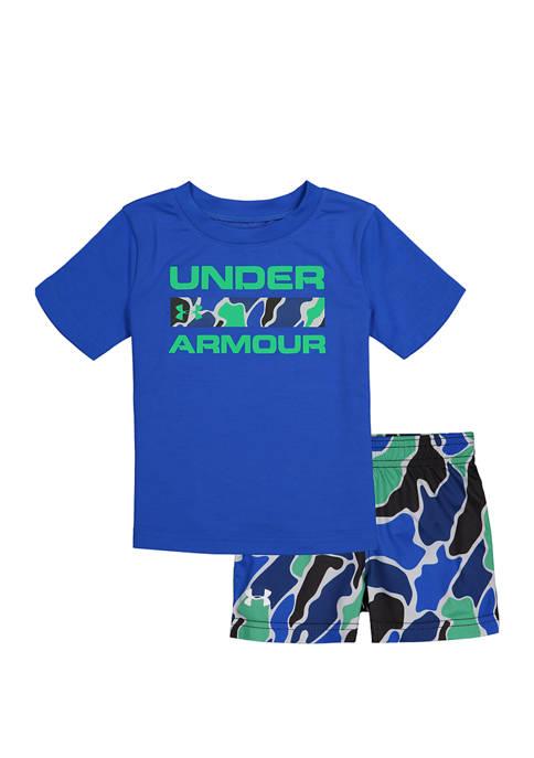 Under Armour® Baby Boys 2 Piece Branded Set
