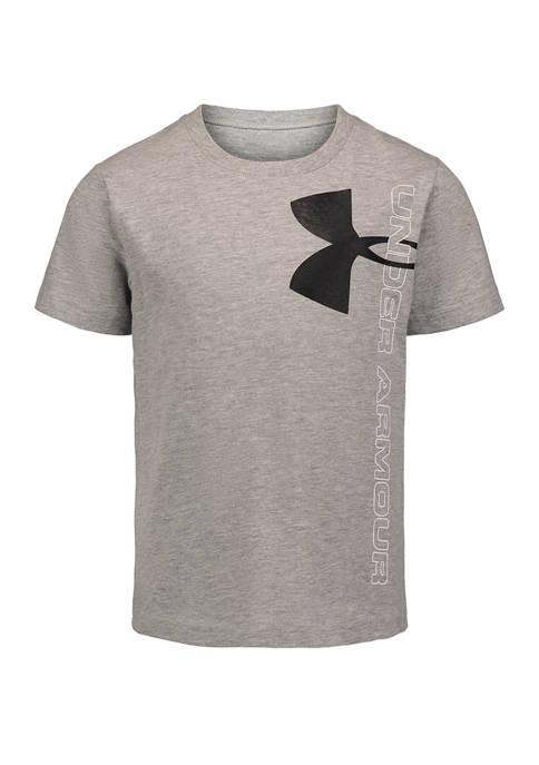 Under Armour® Baby Boys Slit Logo Short Sleeve
