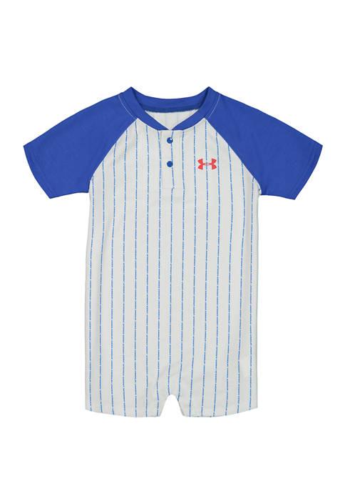 Under Armour® Baby Boys Baseball Shortalls