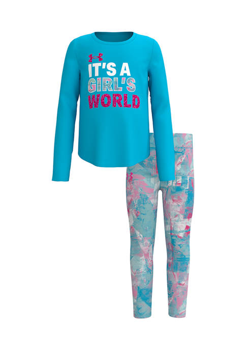 Under Armour® Baby Girls Its A Girls World