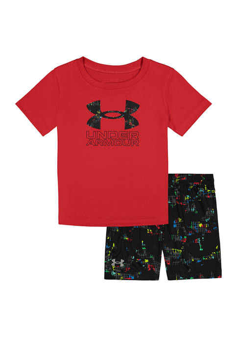 Toddler Boys Abstract Graphic Set