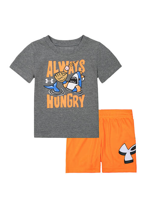Under Armour® Baby Boys Always Hungry Set