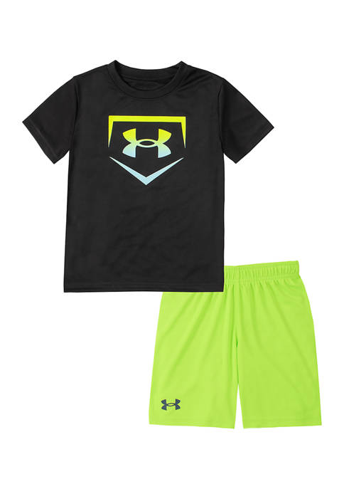 Under Armour® Toddler Boys Baseball Base Set