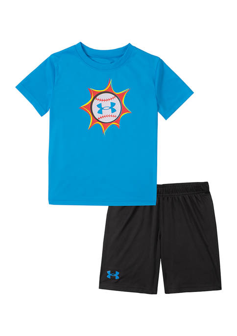 Under Armour® Boys 4-7 Baseball Pow Graphic Set