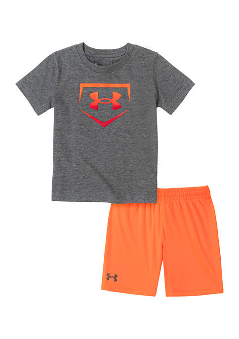 Under Armour® Boys 4-7 Home Base Graphic Set