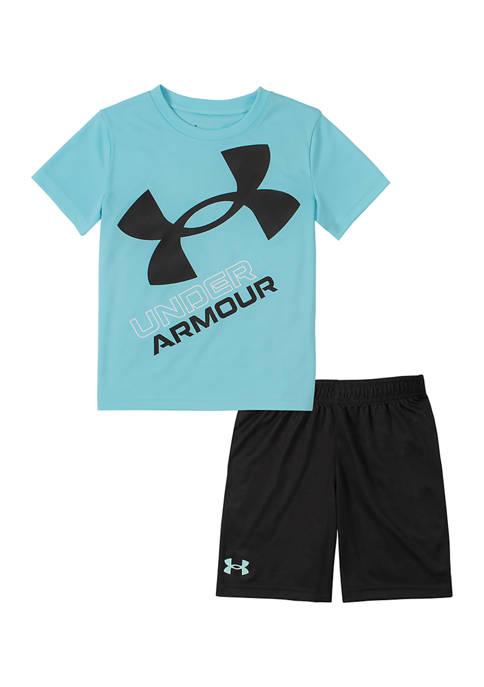 Boys 4-7 Slanted Logo Set