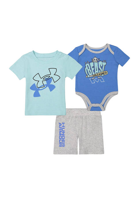 Under Armour® Baby Boys Beast Unleashed 3-Piece Set