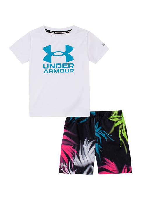 Under Armour® Baby Boys Palm Camo Set