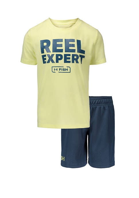 Toddler Boys 2 Piece Reel Expert Set