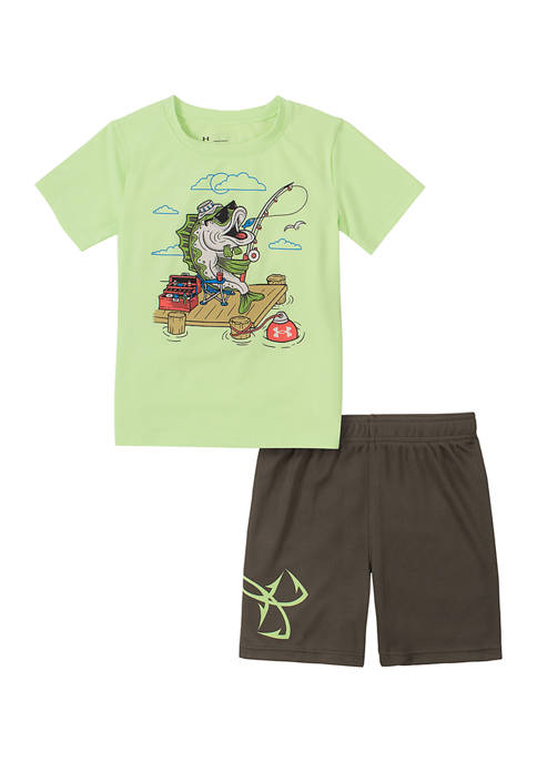 Under Armour® Toddler Boys Bass Fishing Set