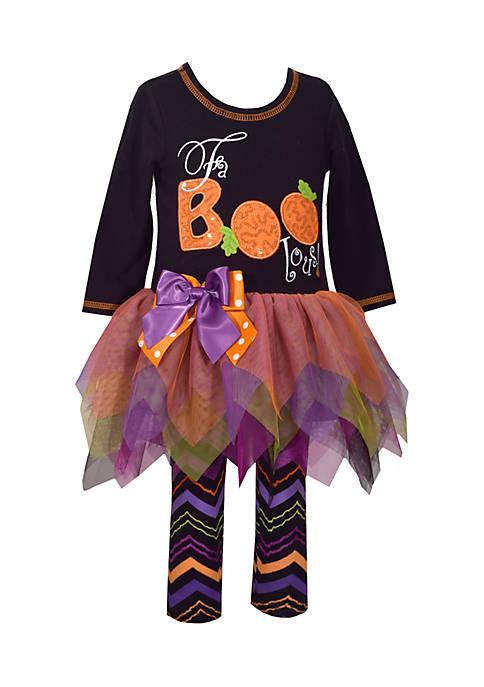 Bonnie Jean Infant Girls Boo Tutu Set