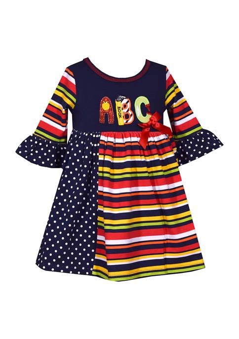 Bonnie Jean Baby Girls ABC Dress