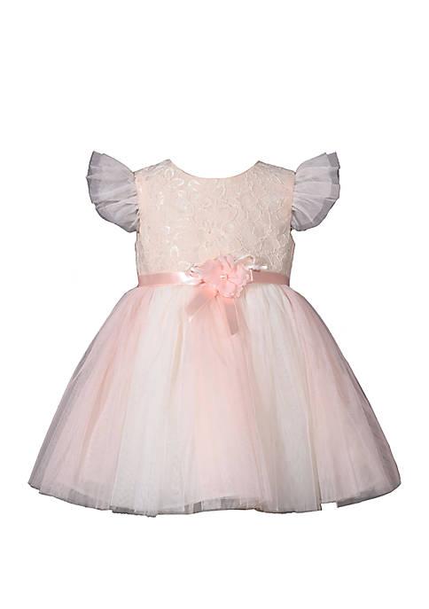 Bonnie Jean Baby Girls Sequin Lace Dress