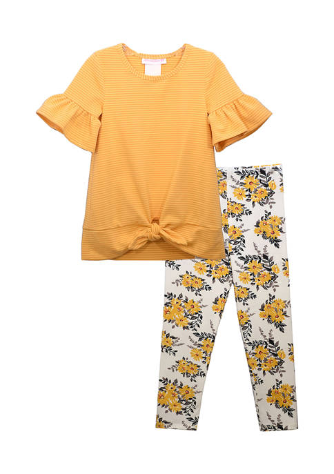 Bonnie Jean Toddler Girls Tunic Top and Leggings