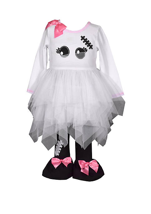 Bonnie Jean Toddler Girls Mummy Leggings Set