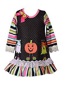 Bonnie Jean Toddler Girls Halloween Friends Dress