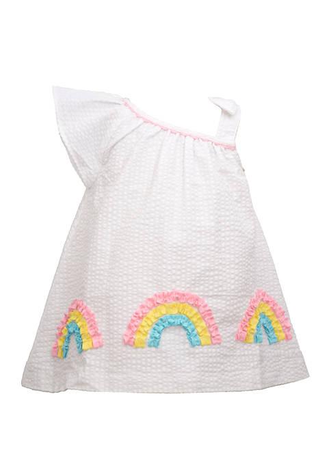 Bonnie Jean Baby Girls Rainbow Dress