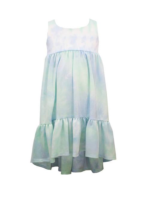 Bonnie Jean Toddler Girls Sleeveless Tie Dye Knit