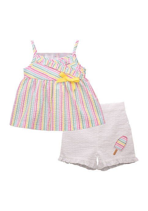 Bonnie Jean Toddler Girls Ice Cream Set