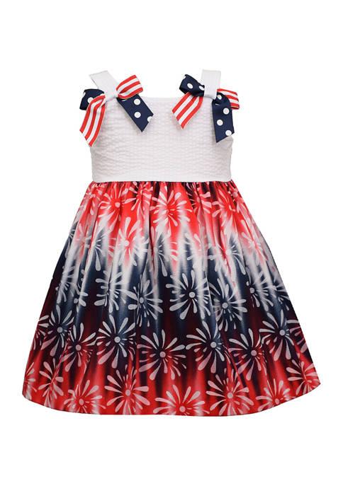 Bonnie Jean Toddler Girls Fireworks Dress